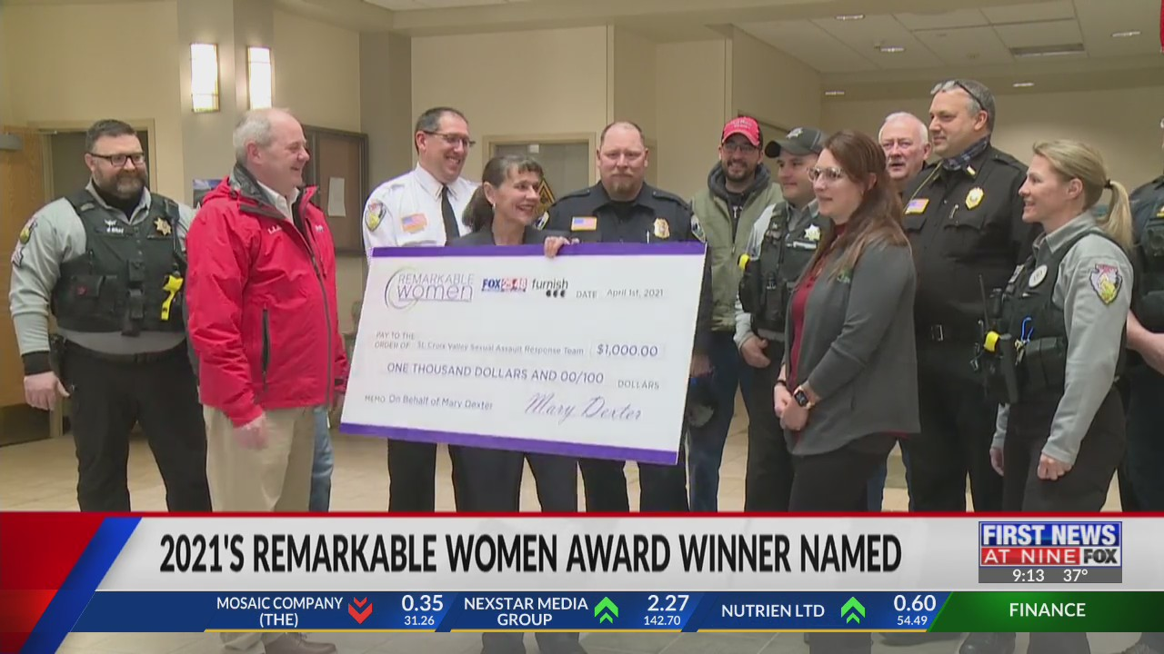 2021's Remarkable Women award winner named