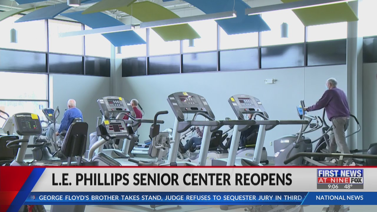After closing due to the pandemic, local senior center reopens with upgrades