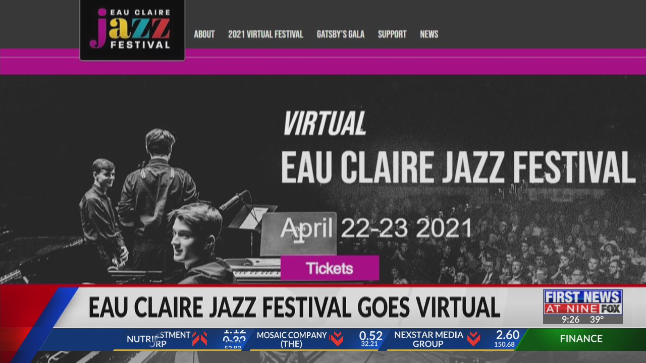 Annual Eau Claire Jazz Festival goes virtual due to COVID-19