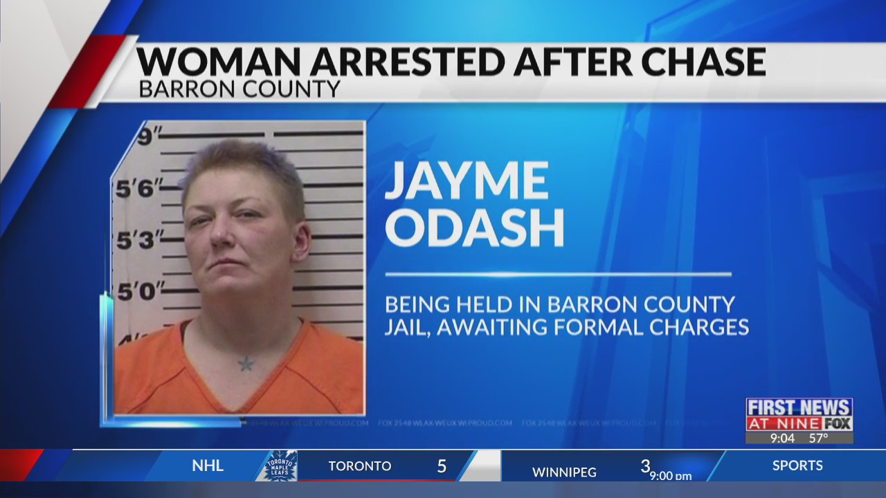 Barron County women arrested after leading deputies on chase