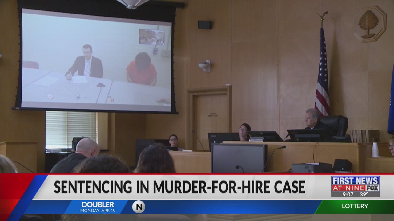 Chippewa Falls woman convicted in a murder for hire sentenced in court