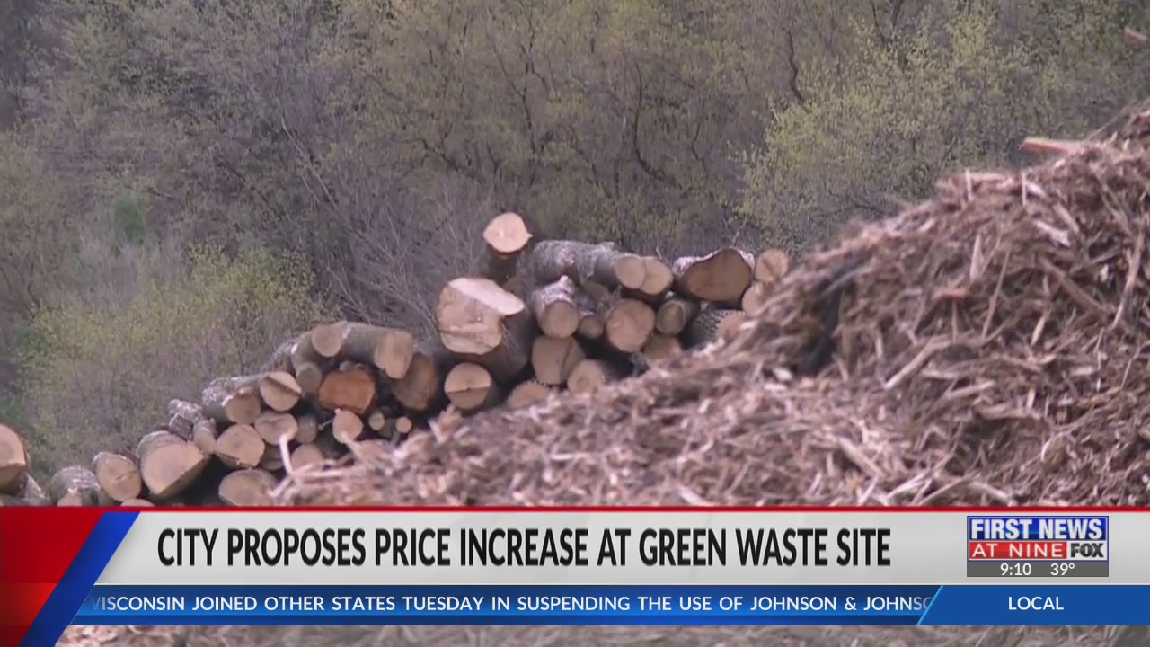 City of Eau Claire proposes price increase at green waste site