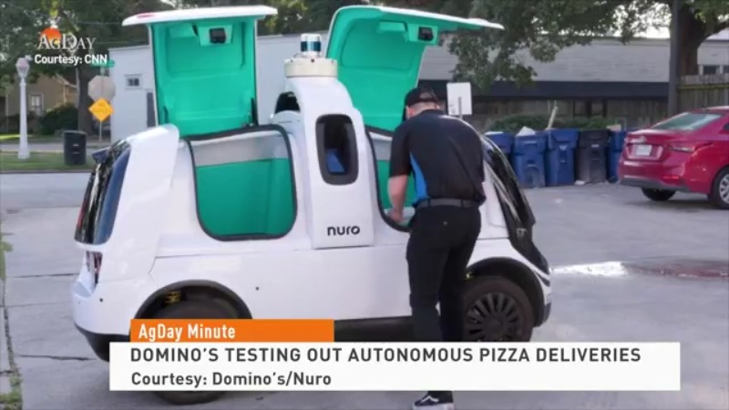 Domino's trying out autonomous pizza deliveries