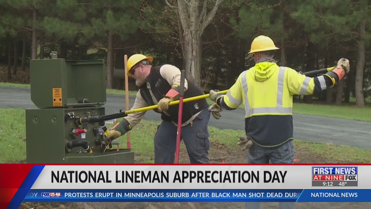Electric co-ops celebrate National Lineman Appreciation Day