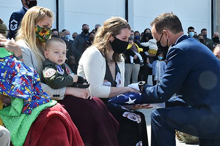 Family, friends, unit remember fighter pilot