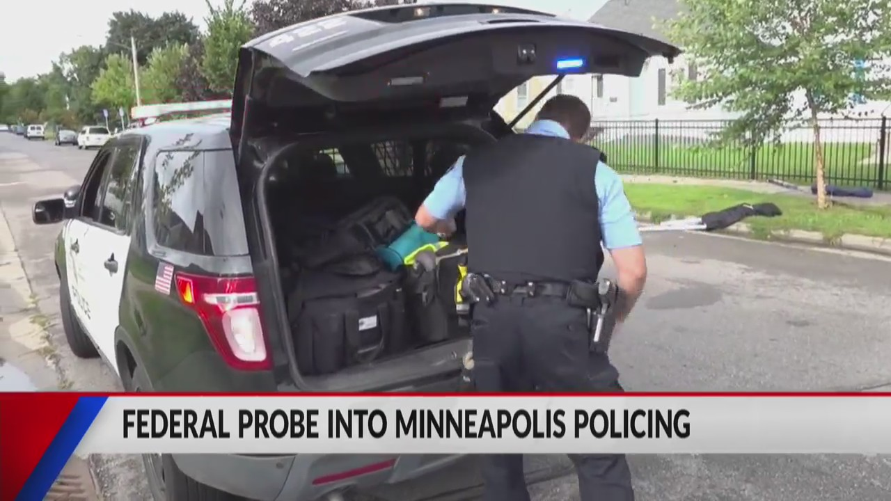 Federal probe announced into policing practices in Minneapolis