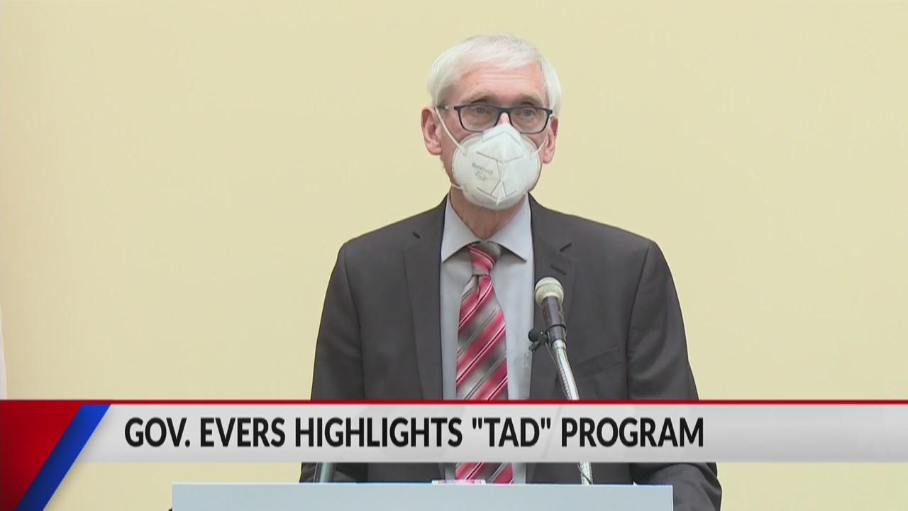 Governor Tony Evers spotlights justice system reform