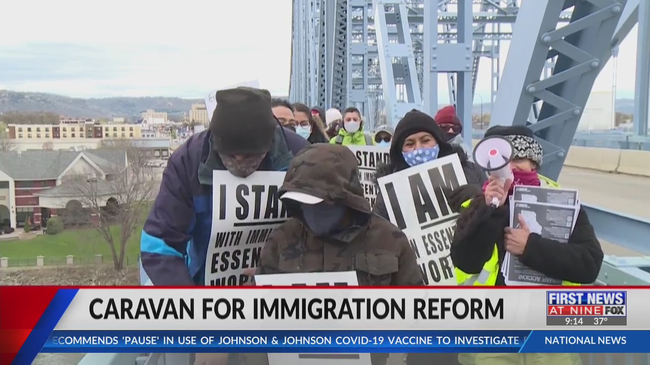 National immigration reform caravan crosses into Wisconsin