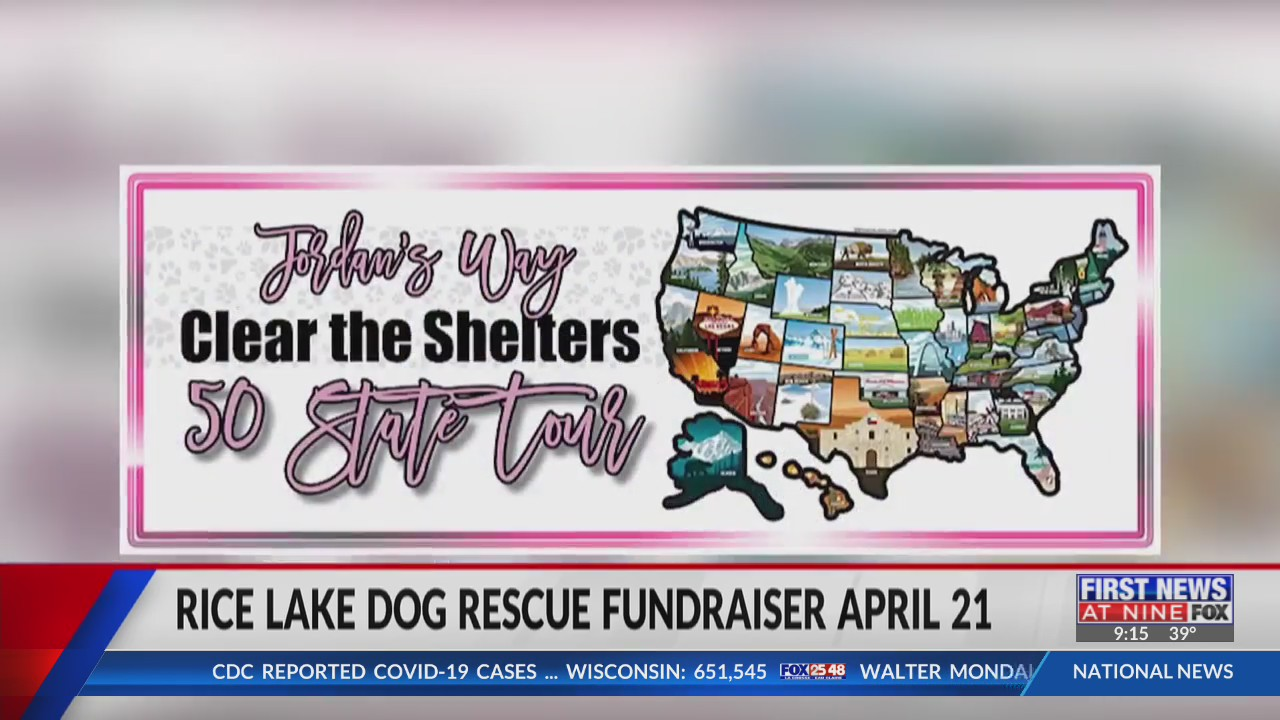 Rice Lake dog rescue fundraiser set for April 21