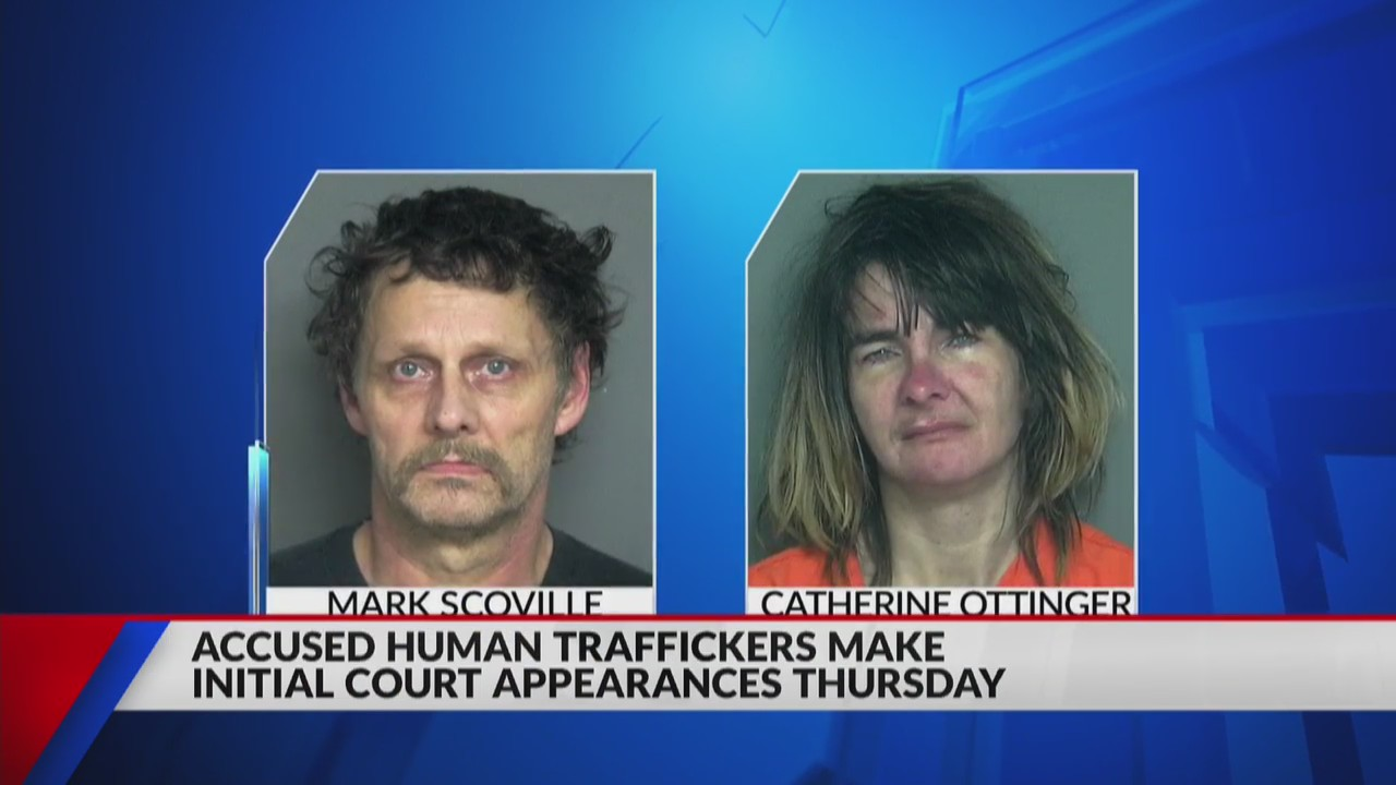 Two charged with human trafficking appear in Eau Claire County Court