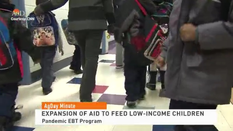 USDA expands food aid to low-income children