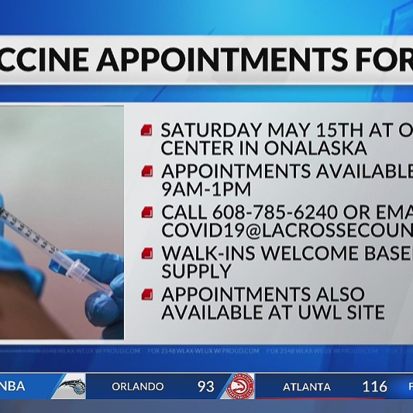 COVID-19 daily update Cases, deaths, vaccination rates in Wisconsin, La Crosse, Eau Claire (May 14, 2021)