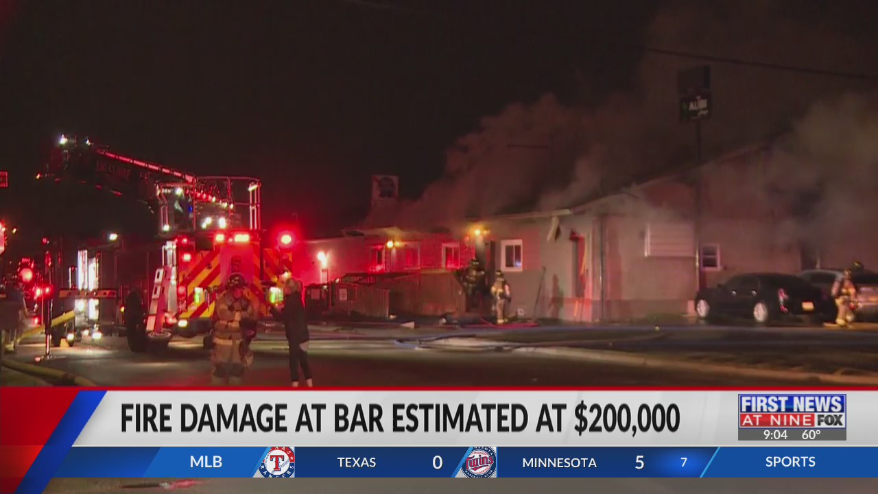 Fire at Eau Claire bar causes $200K worth of damage