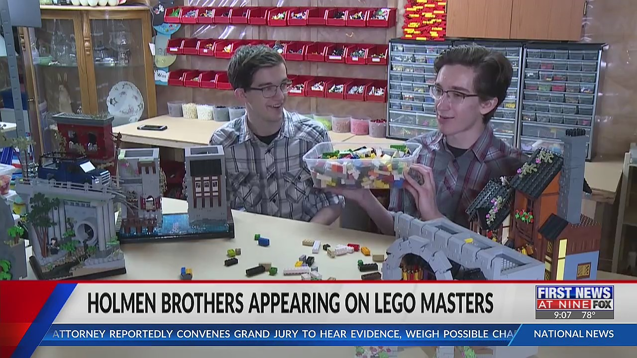 Holmen brothers competing on new season on LEGO Masters