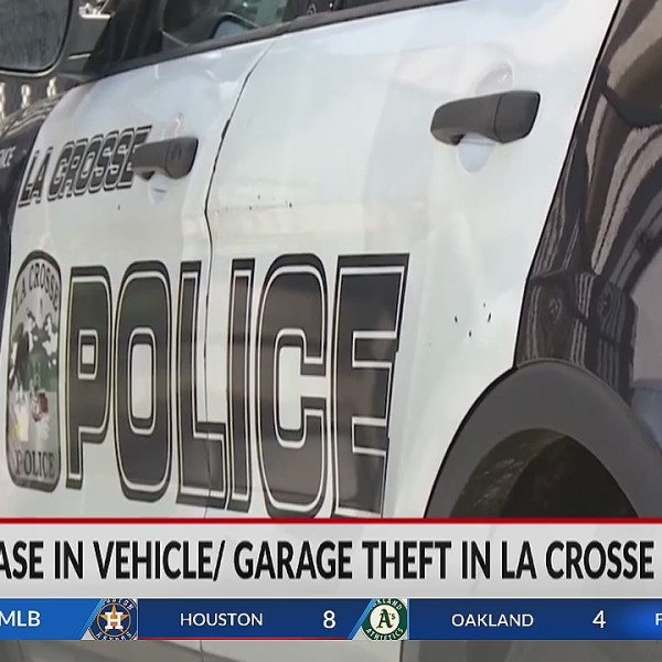 Increase in vehicle garage theft in La Crosse County