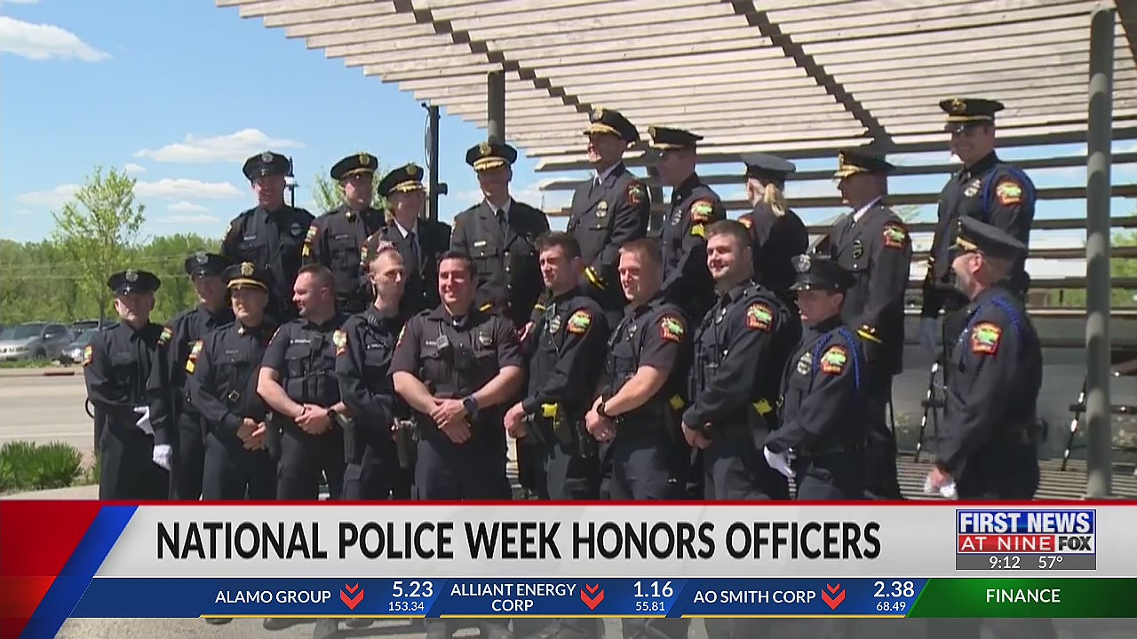 Local police officers honored during National Police Week