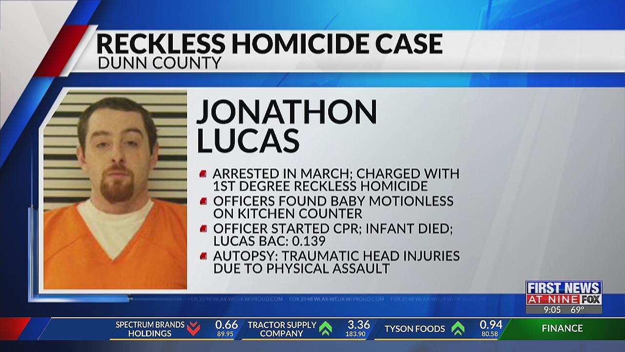 Menomonie man charged in death of six-week old son, arraignment scheduled June 22