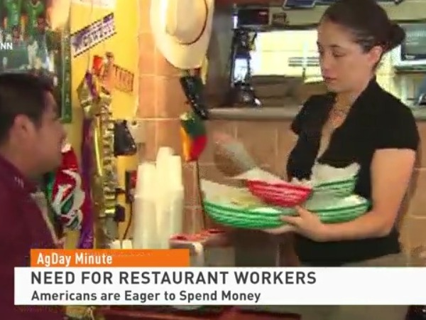 Need for restaurant workers grows