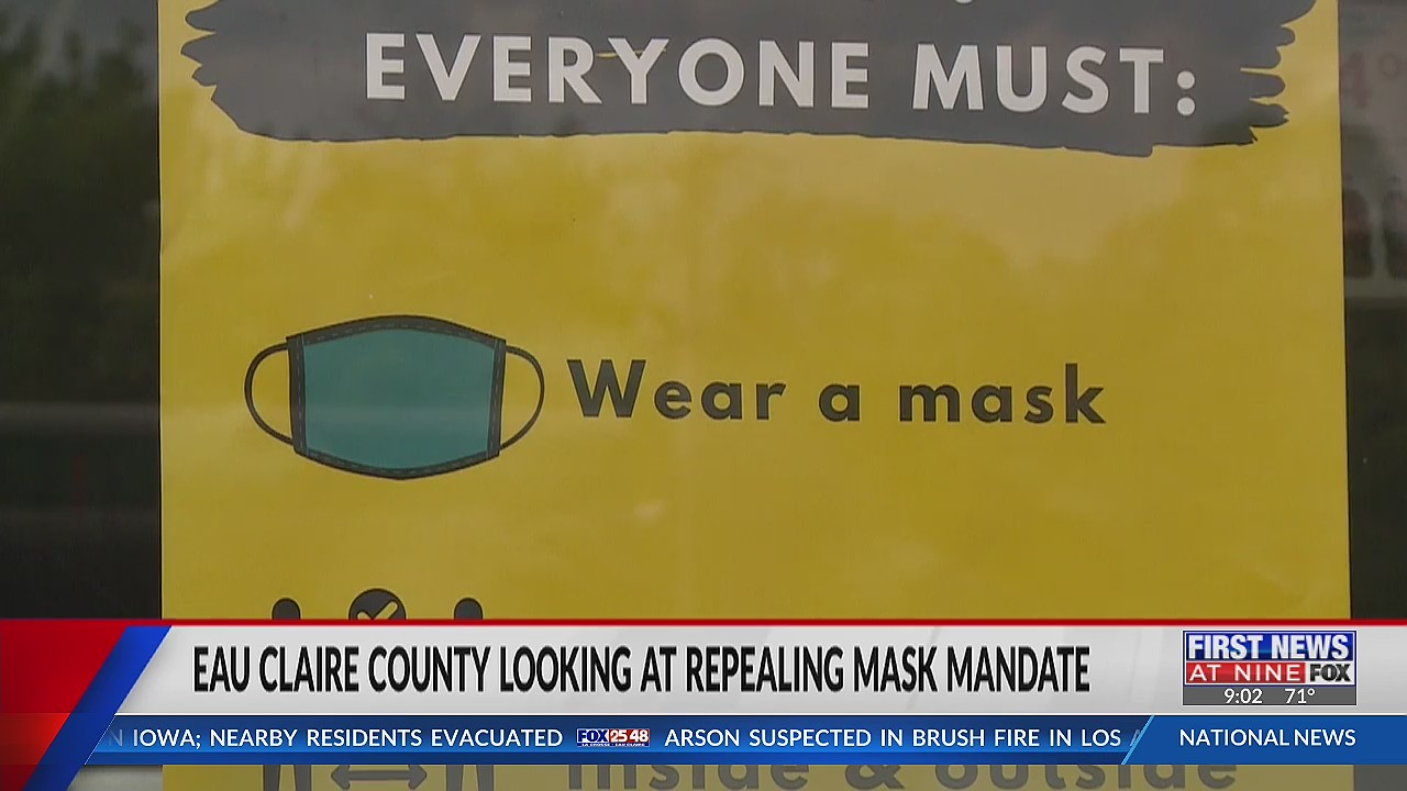 People weigh in on Eau Claire County mask mandate following new CDC guidelines