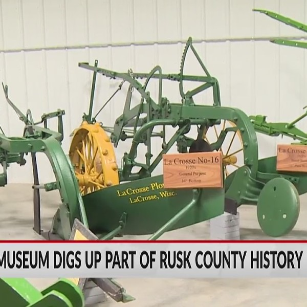 Plow museum digs up part of Rusk County history