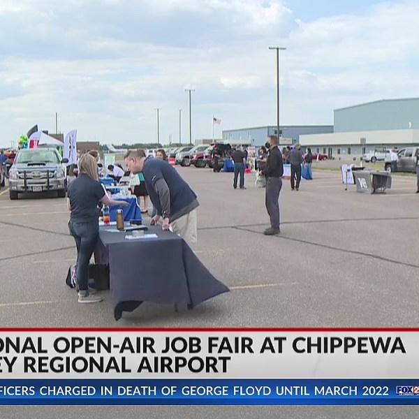 Regional open-air job fair takes place at Chippewa Valley Regional Airport