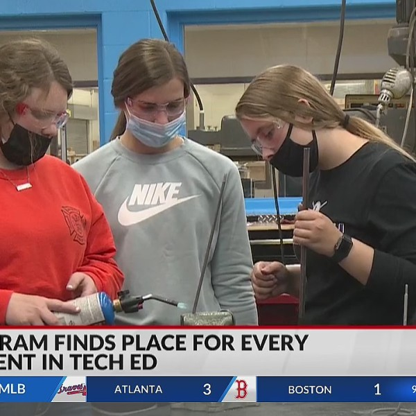 Rusk County high school program finds place for every student in tech education