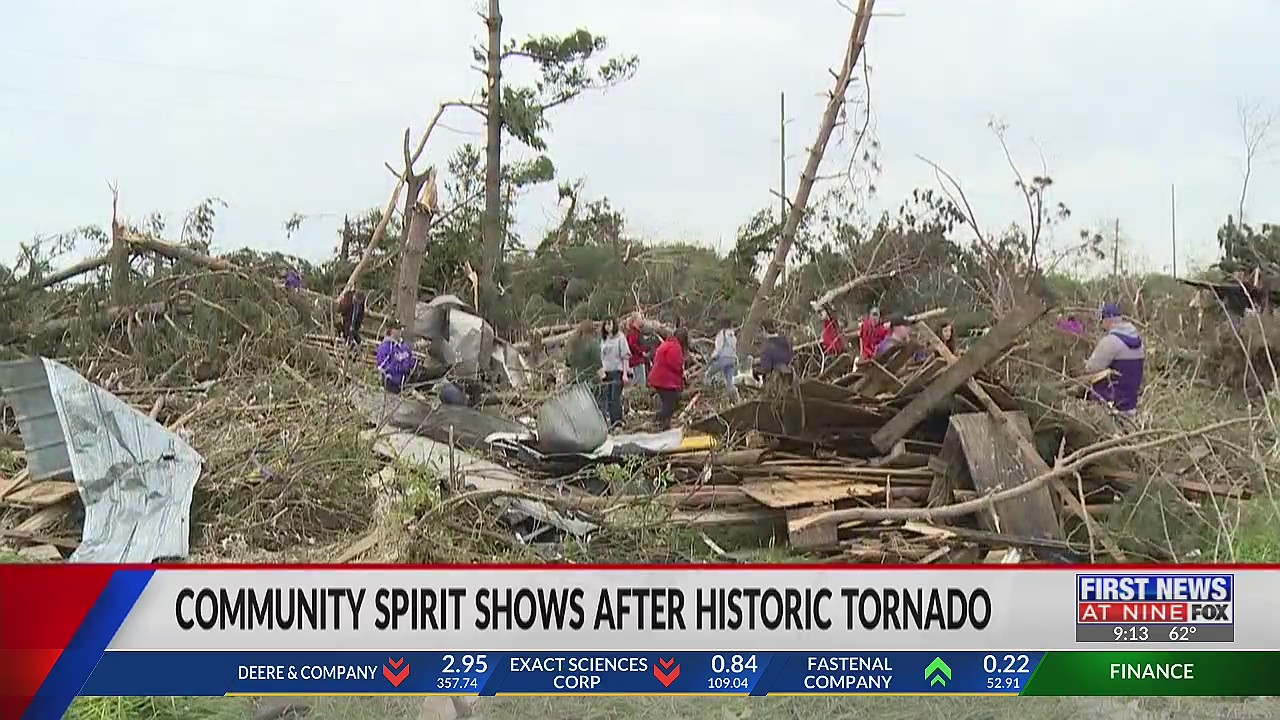 Rusk County shows community spirit after historic Wisconsin tornado