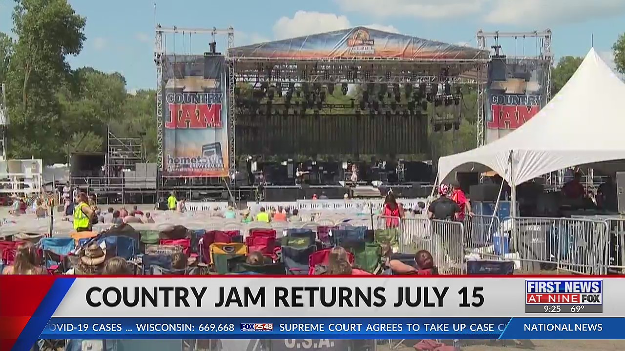 Safety measures in place for Eau Claire's Country Jam 2021