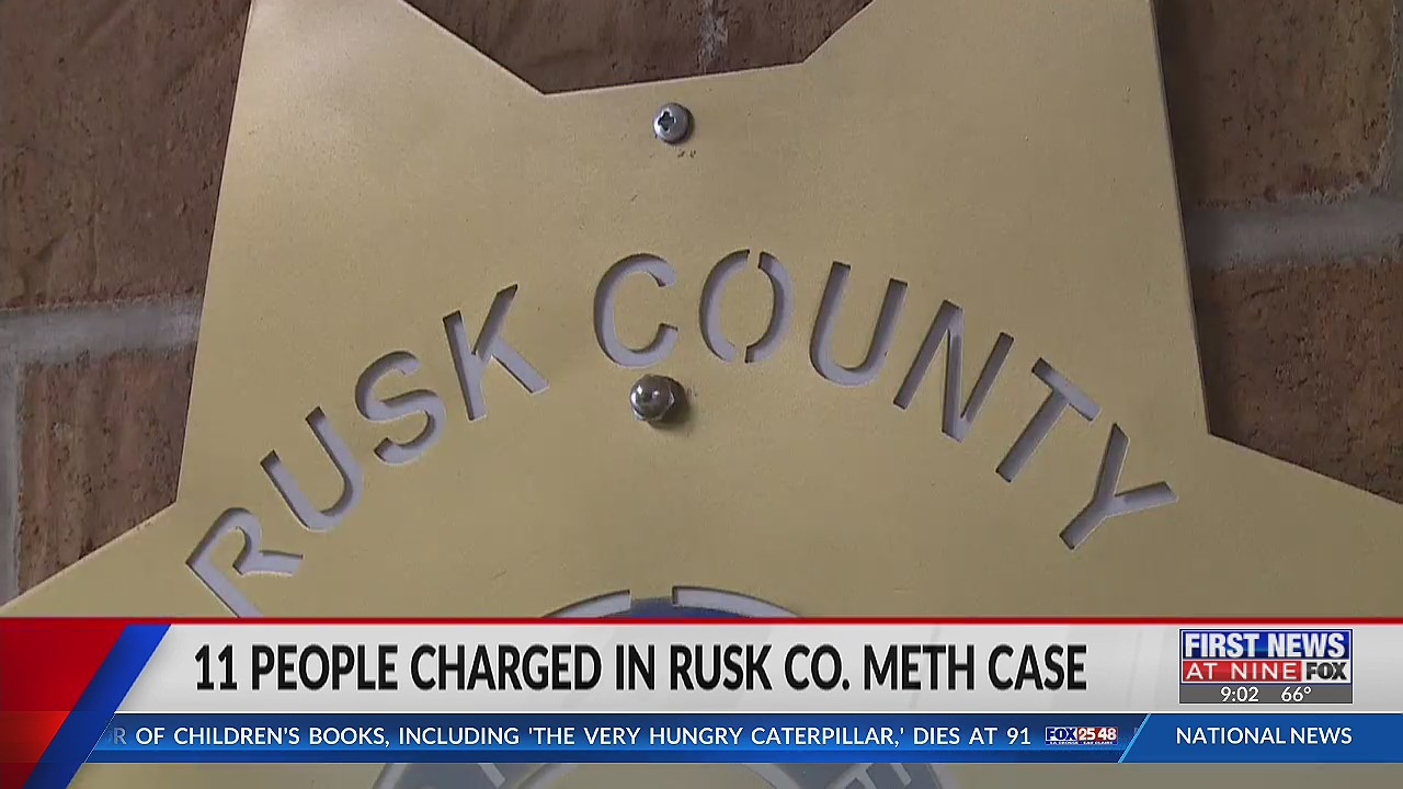 Sheriff shares details in Rusk County meth case