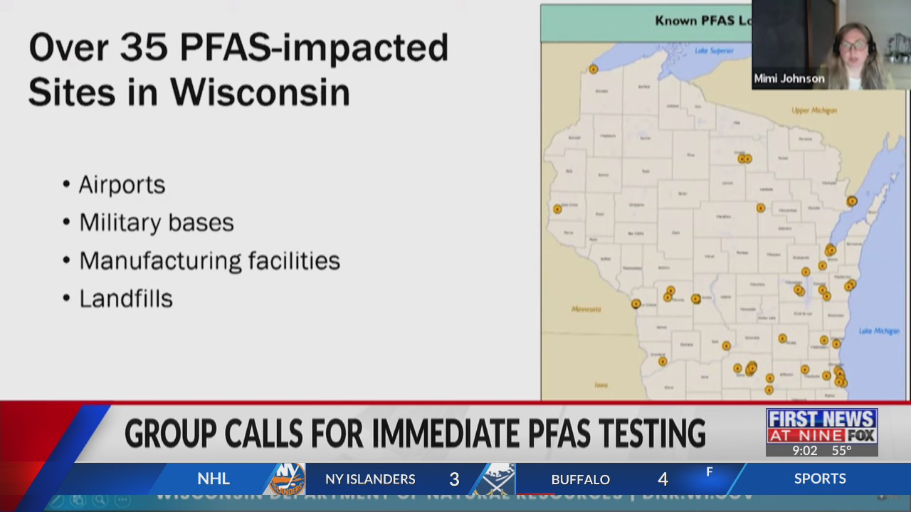 Wisconsin alliance calls for immediate statewide PFAS testing