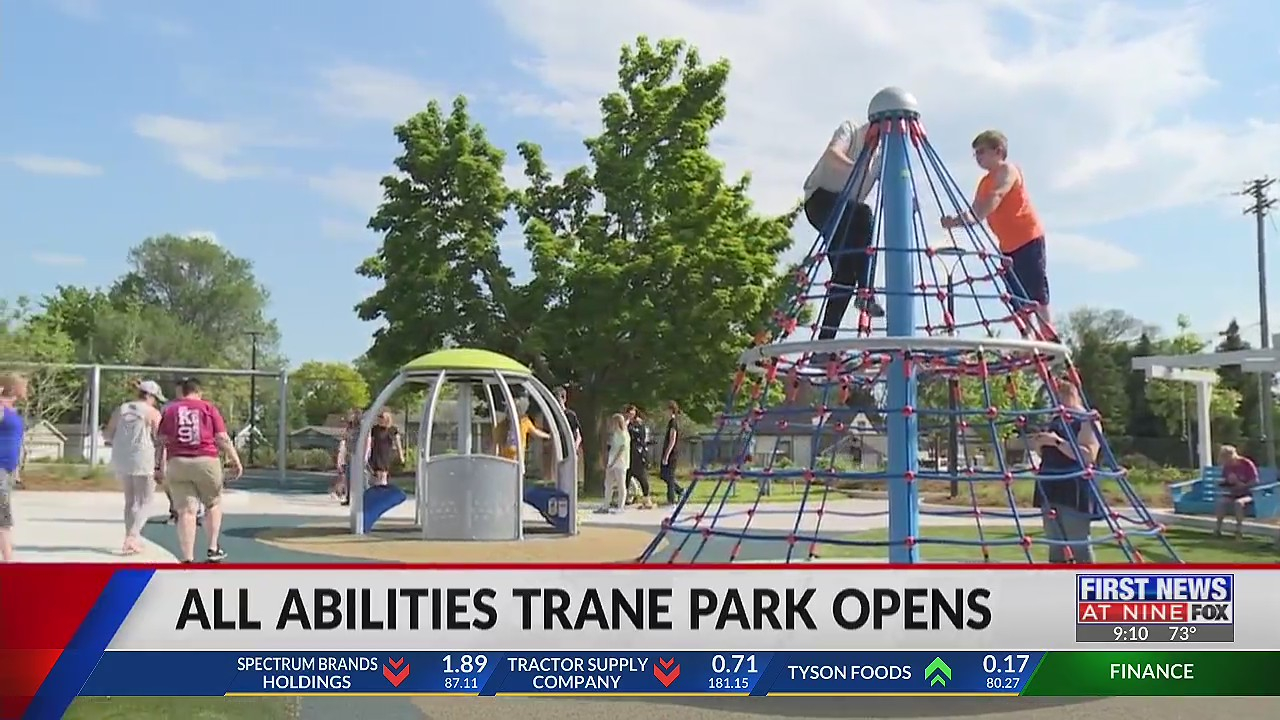 All Abilities Trane Park opens to the public