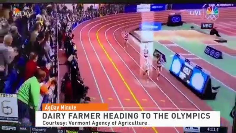 Dairy Farmer Heading to the Olympics