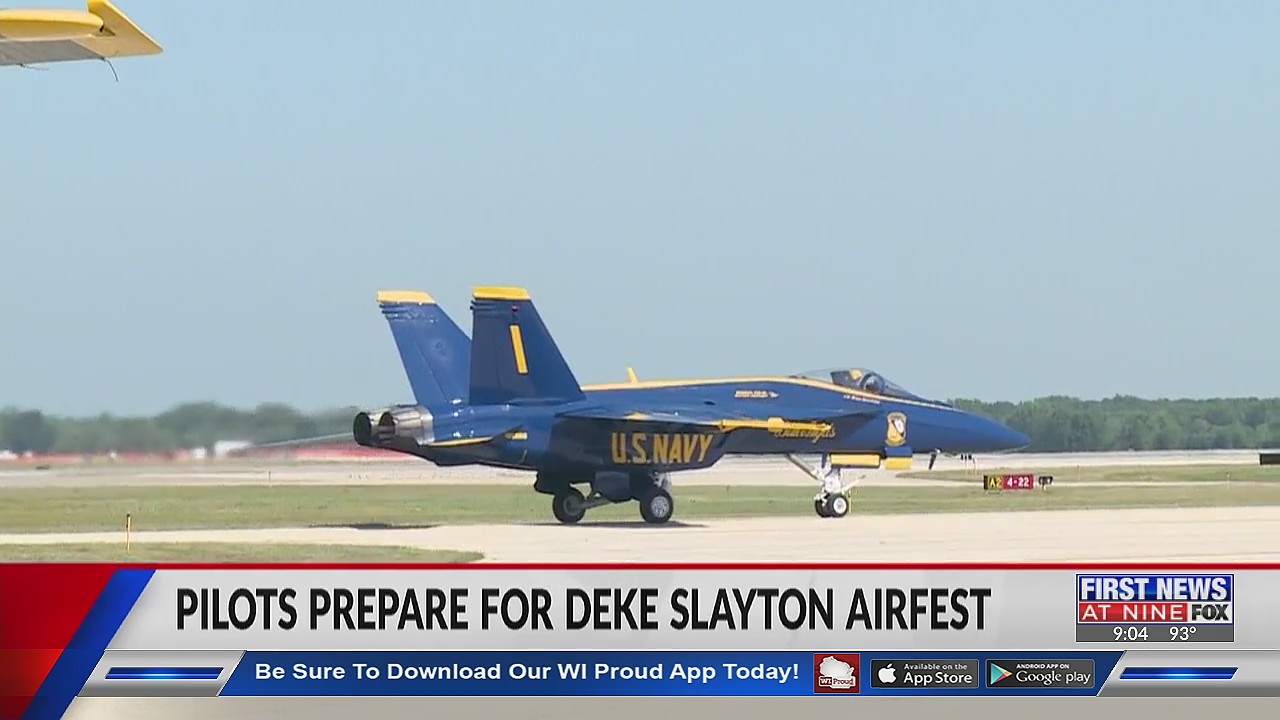Deke Slayton Airfest premiers Blue Angels and state-of-the-art military jet F-35A Lightning