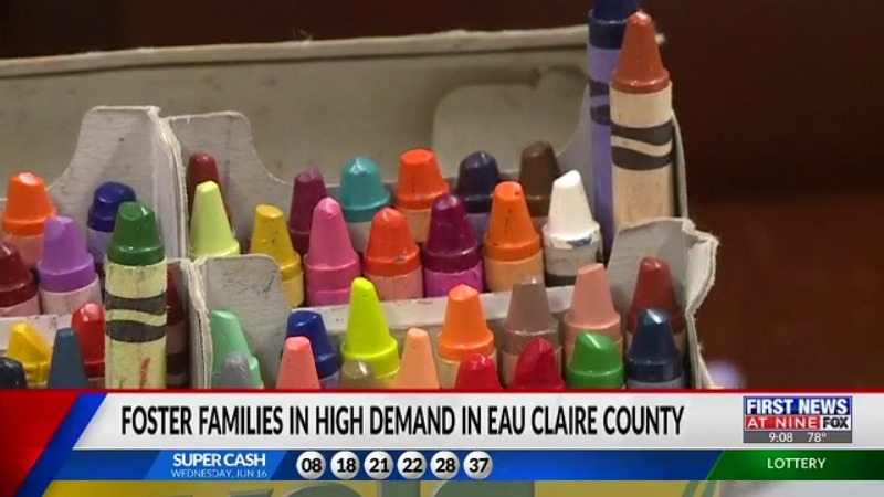 Eau Claire County foster families in high demand