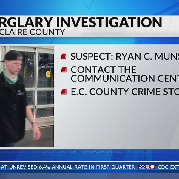 Eau Claire Police name third suspect in Wednesday golf course burglary; search continues