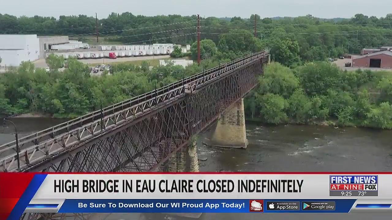 Eau Claire's High Bridge remains closed as crews investigate solutions