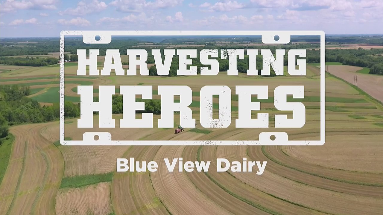 Harvesting Heroes: Blue View Dairy, a family operated farm for over a century