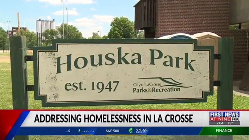 Homeless allowed to gather in Houska Park while long-term solutions are developed