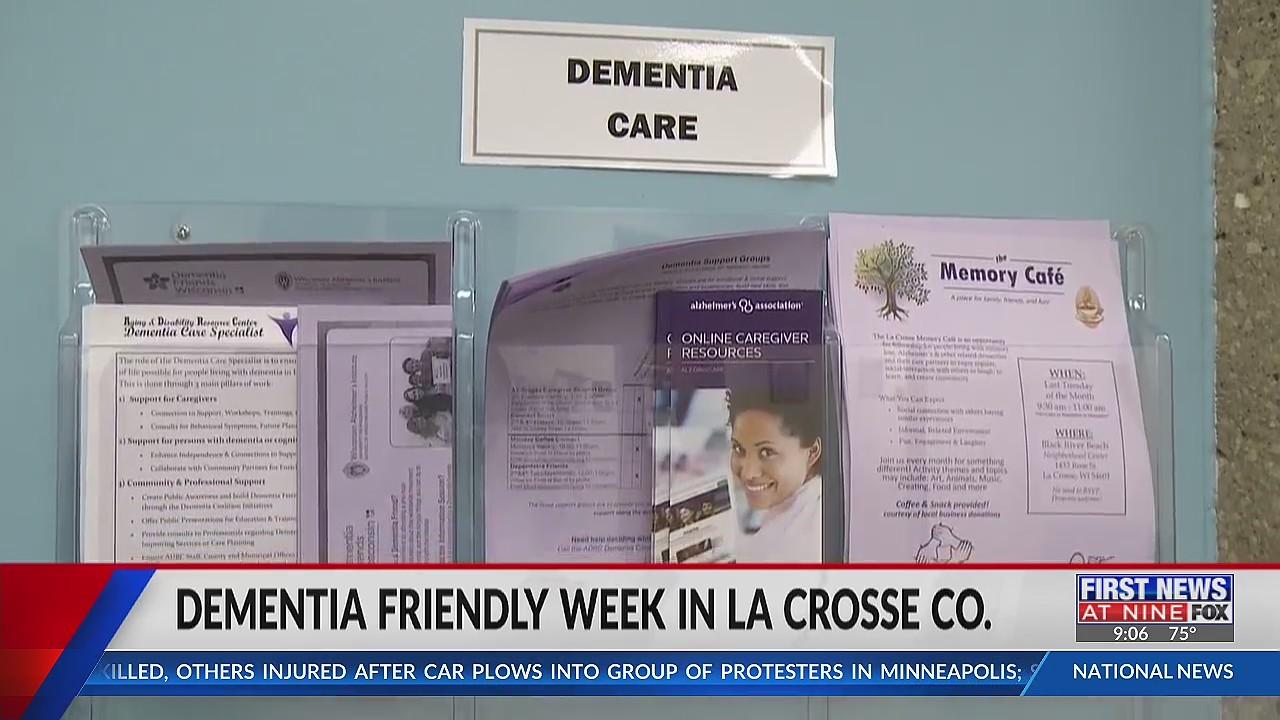 "La Crosse County raising awareness during ""Dementia Friendly Week"""
