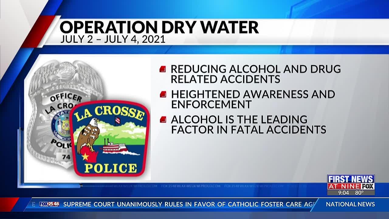 La Crosse Police Department look to heighten enforcement on the waters