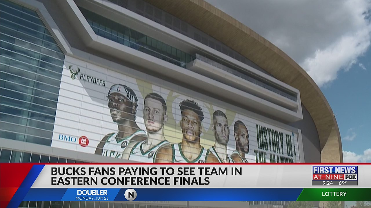 Milwaukee Bucks fans paying to see team in Easter Conference Finals