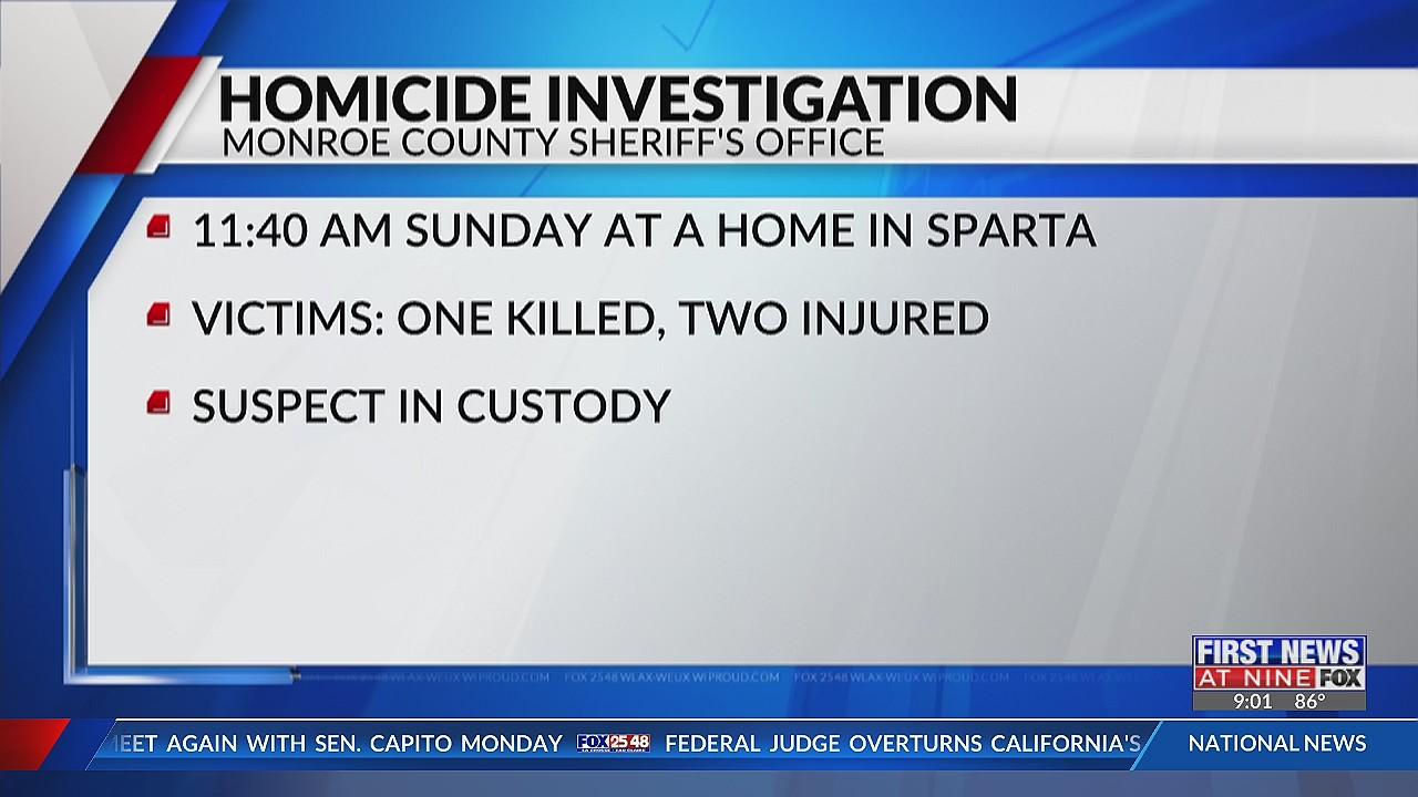Monroe County Sheriff's Office investigates stabbing, suspect in custody