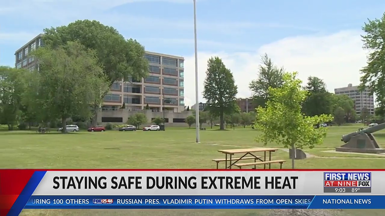 Tips on how to stay safe during extreme heat