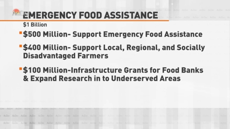 USDA announces new round of aid to help food banks