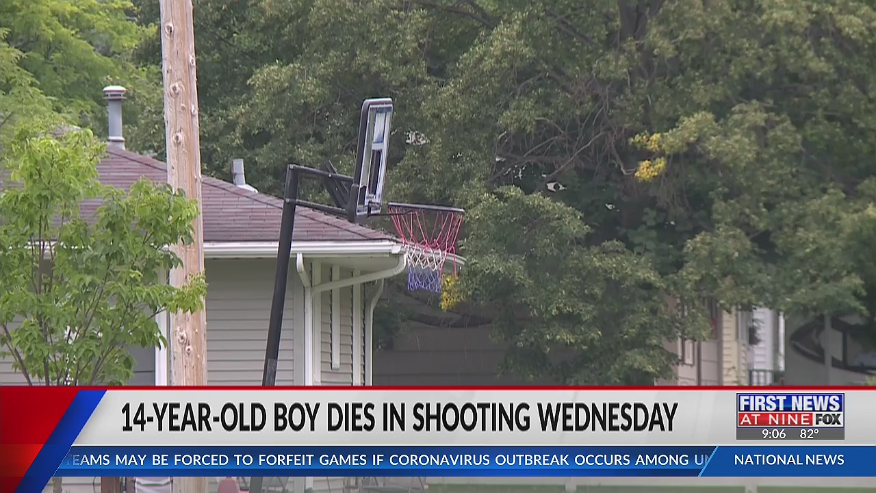 14-year-old Eau Claire boy dead after Wednesday shooting