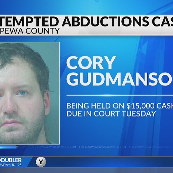 Bond set for Chippewa Falls man accused of attempting to abduct 3 women