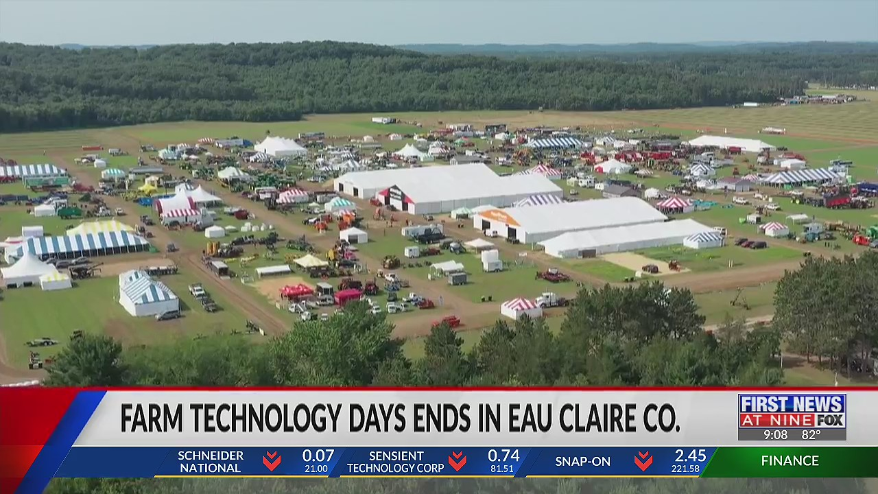 Farm Technology Days ends in Eau Claire County