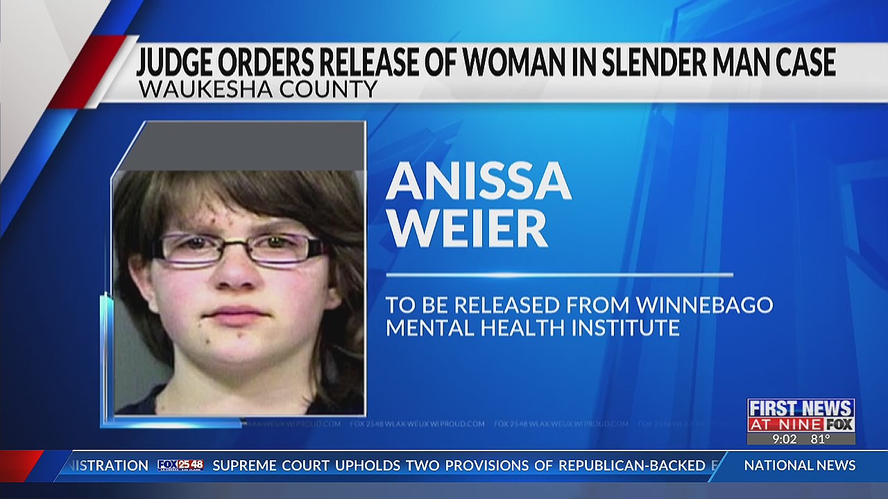 Judge approves release of woman convicted in Waukesha Slender Man stabbing