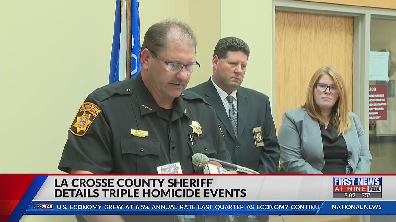 La Crosse County Sheriff details triple homicide events