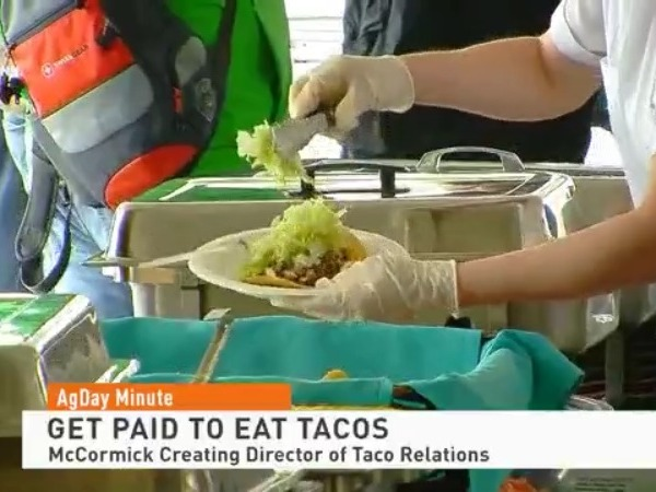 McCormick hiring for Director of Taco Relations
